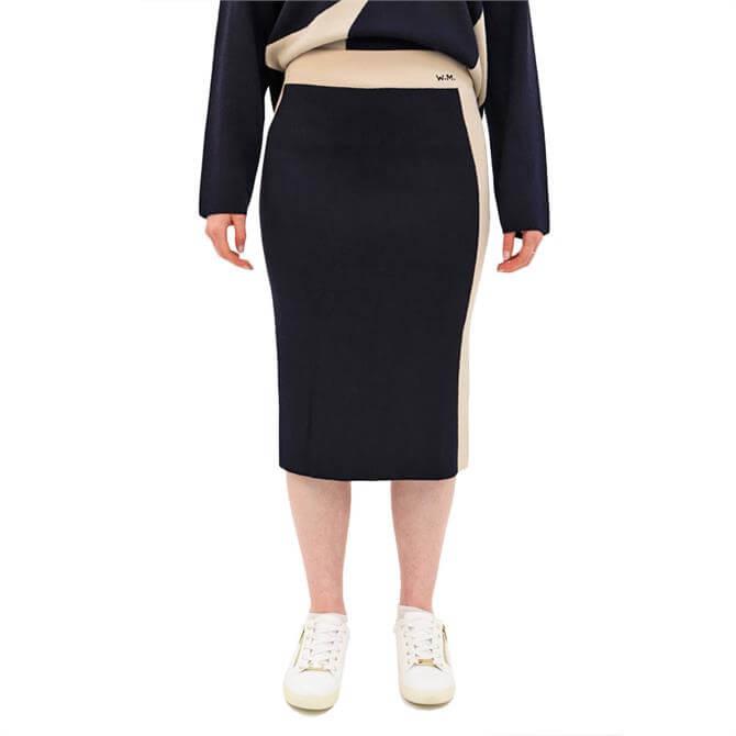 Weekend Max Mara Nadina Stretch Jersey Pencil Skirt