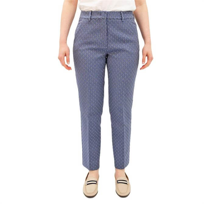 Weekend Max Mara Onore Printed Cropped Trousers
