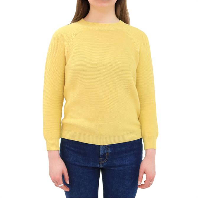 Weekend Max Mara Piroga Round Neck Cotton Sweater