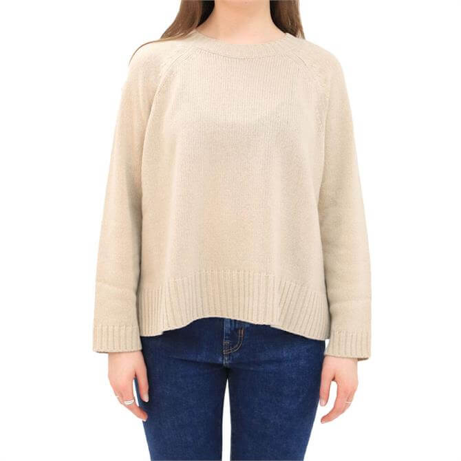 Weekend Max Mara Sesamo Wool Silk Blend Sweater