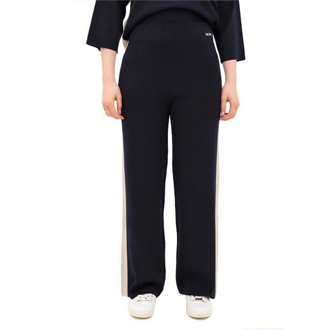Weekend Max Mara Technico Jersey Side Stripe Trousers