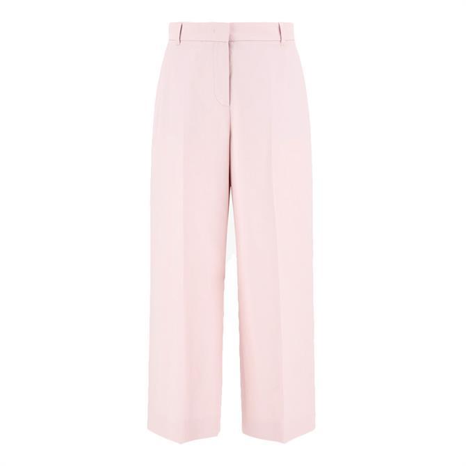 Weekend Max Mara Svezia Cotton Linen Trousers