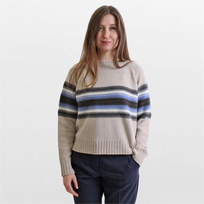 Weekend Max Mara Udine Central Stripe Sweater