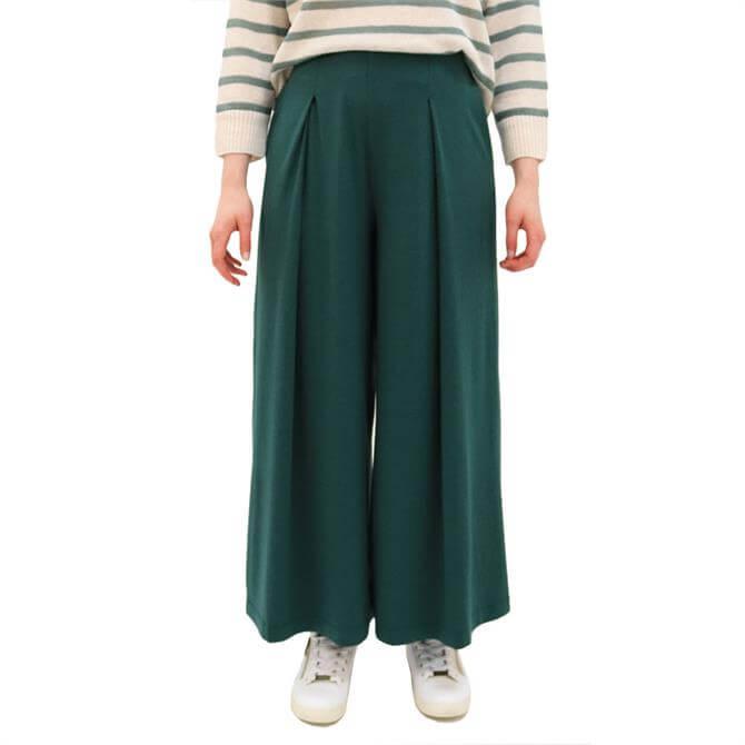 Weekend Max Mara Ussita Wide Leg Jersey Trousers