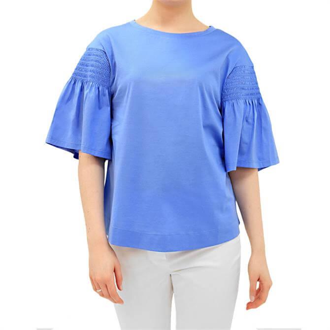 Weekend Max Mara Vanesio Short Bell-Sleeve T-Shirt
