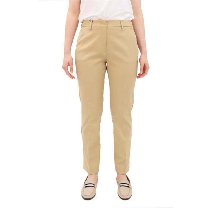 Weekend Max Mara Vite Stretch Cotton Trousers