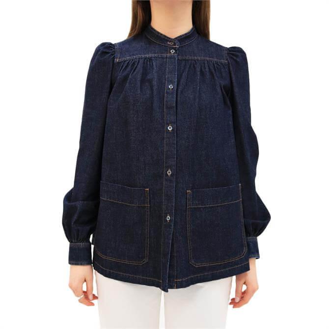 Weekend Max Mara Vocaire Cotton Denim Shirt