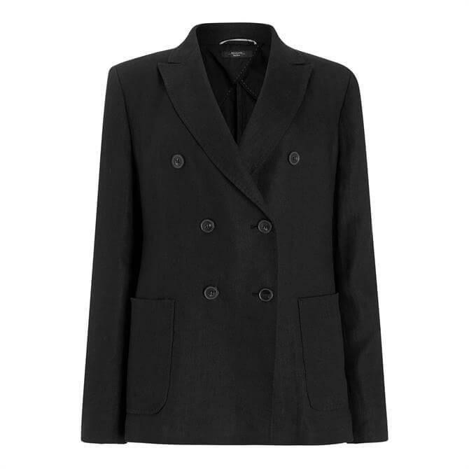 Weekend Max Mara Finnici Double Breast Linen Jacket