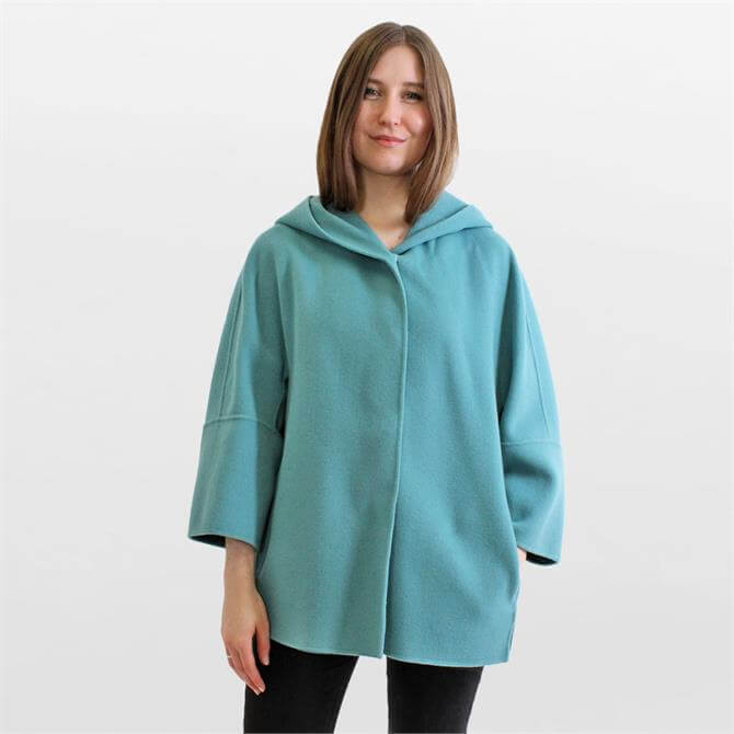 Weekend Max Mara Rapace Wool Hooded Jacket