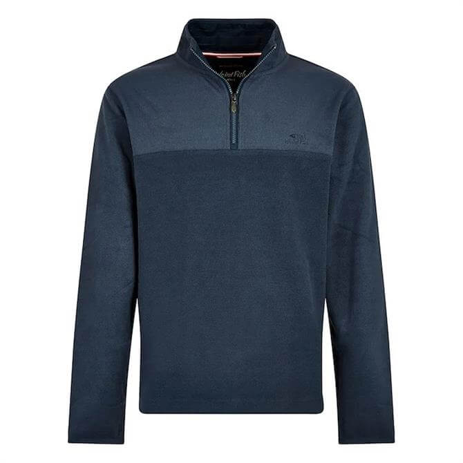Weird Fish Rothay 1/4 Zip Fleece Sweatshirt