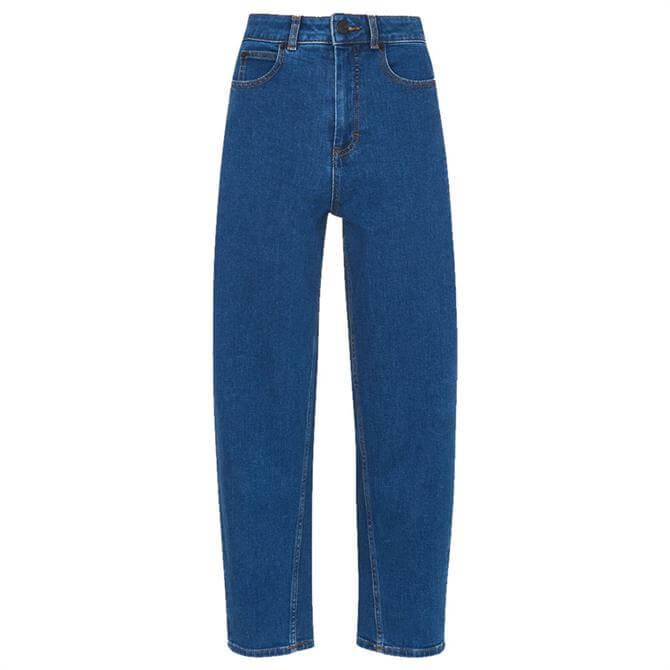 Whistles Organic Denim High Waist Barrel Jeans