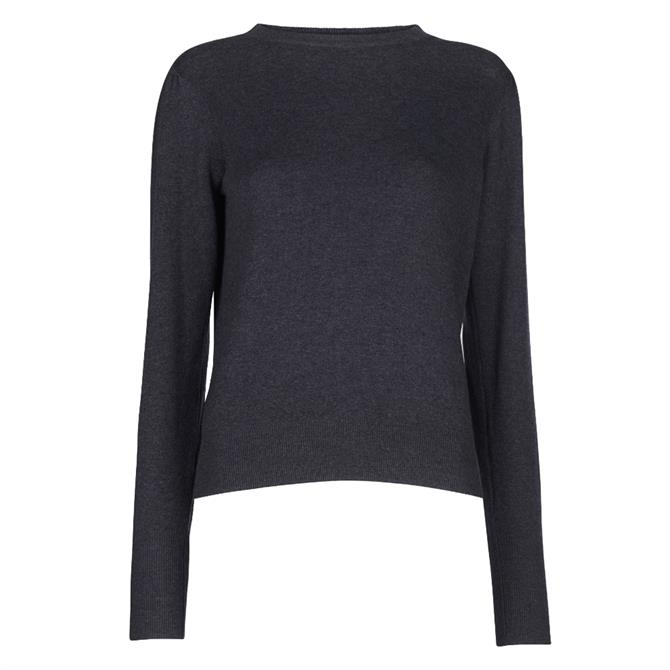 Whistles Puff Sleeve Knit Jumper