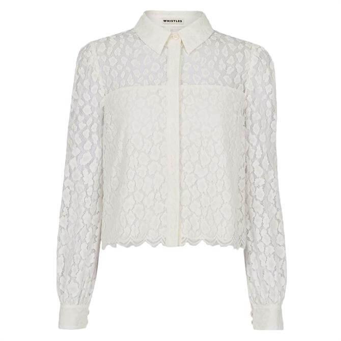 Whistles Animal Lace Shirt