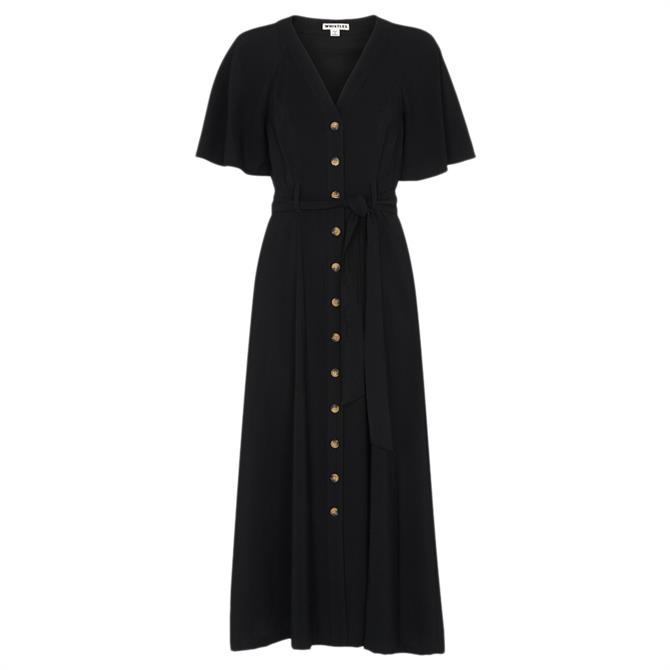 Whistles Anita Frill Sleeve Dress