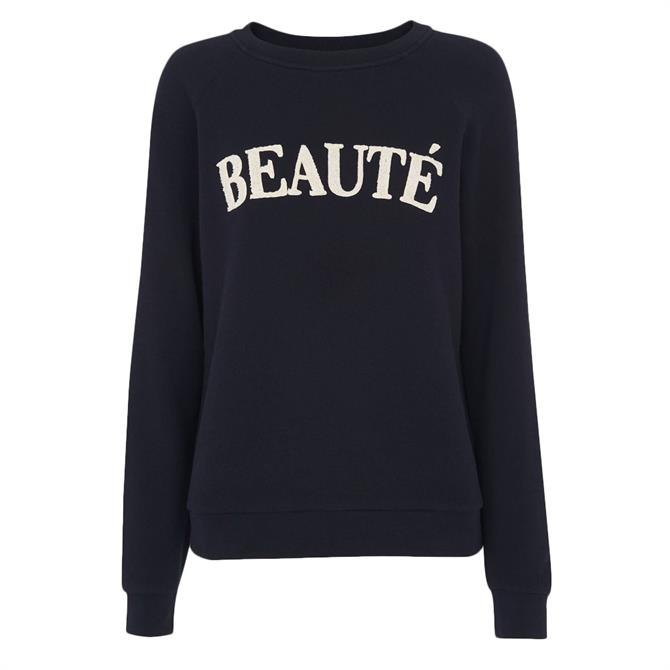 Whistles Beaute Logo Sweatshirt