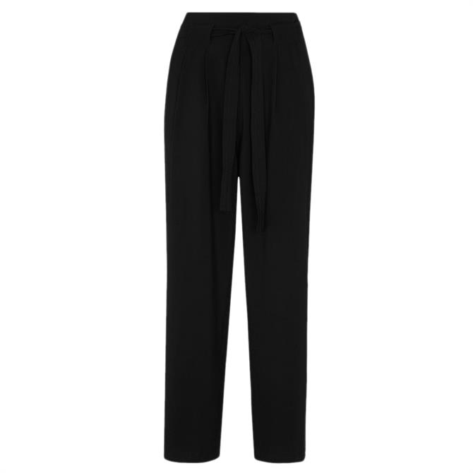 Whistles Belted Casual Crop Straight Fit Trouser