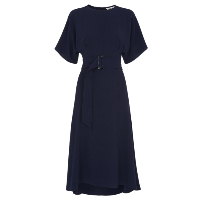 Whistles Belted Midi Dress