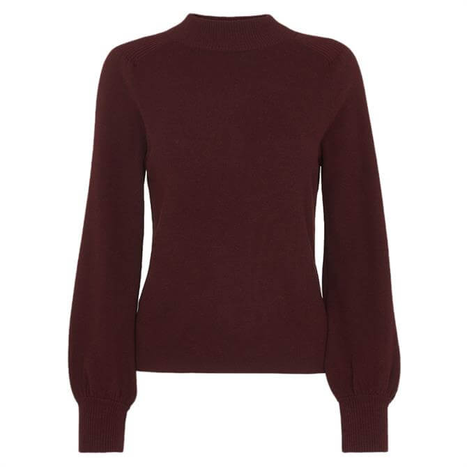 Whistles Blouson Sleeve Knit Jumper