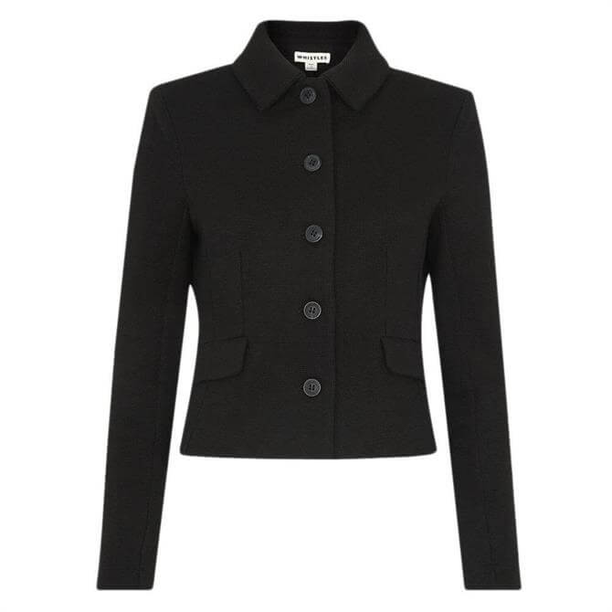 Whistles Button Front Jersey Jacket