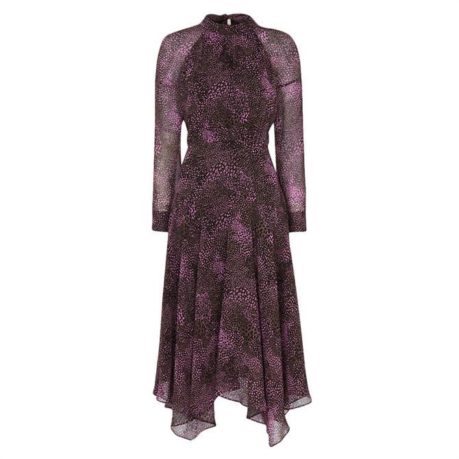 Whistles Carlotta Snake Print Dress