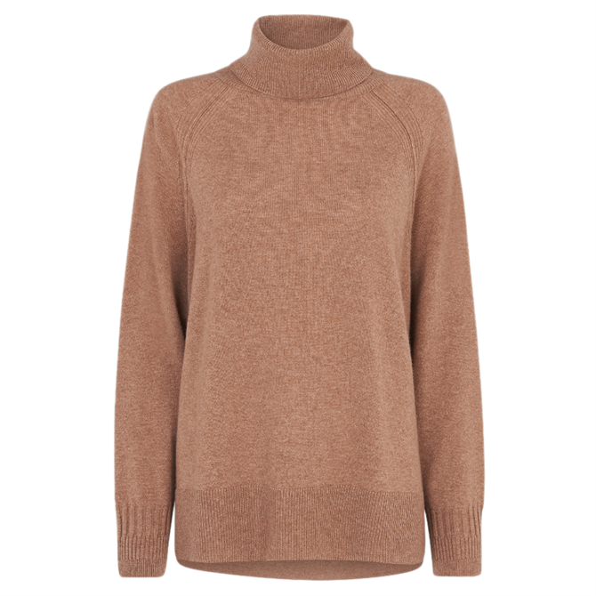 Whistles Pure Cashmere Roll Neck Sweater