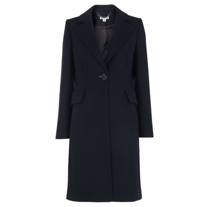 Whistles Clara Single Breasted Coat