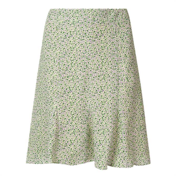 Whistles English Garden Flippy Skirt