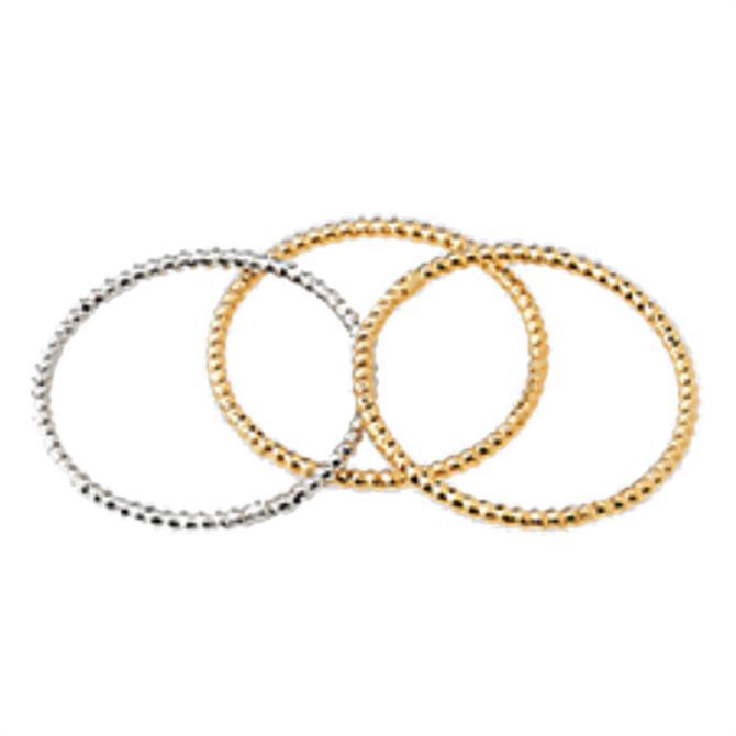 Whistles Engraved Ring Set