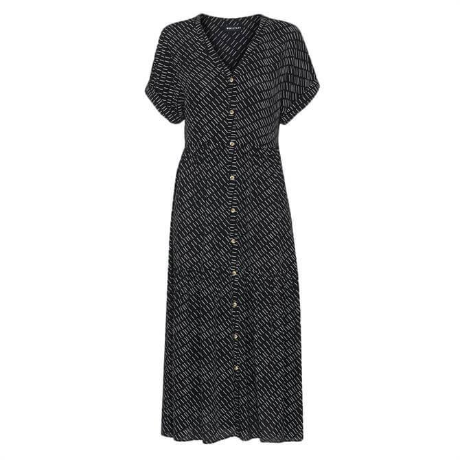 Whistles Geo Print Tiered Dress