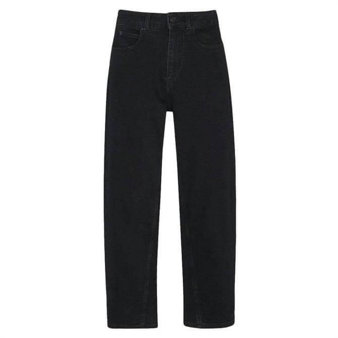 Whistles High Waist Organic Barrel Leg Jeans