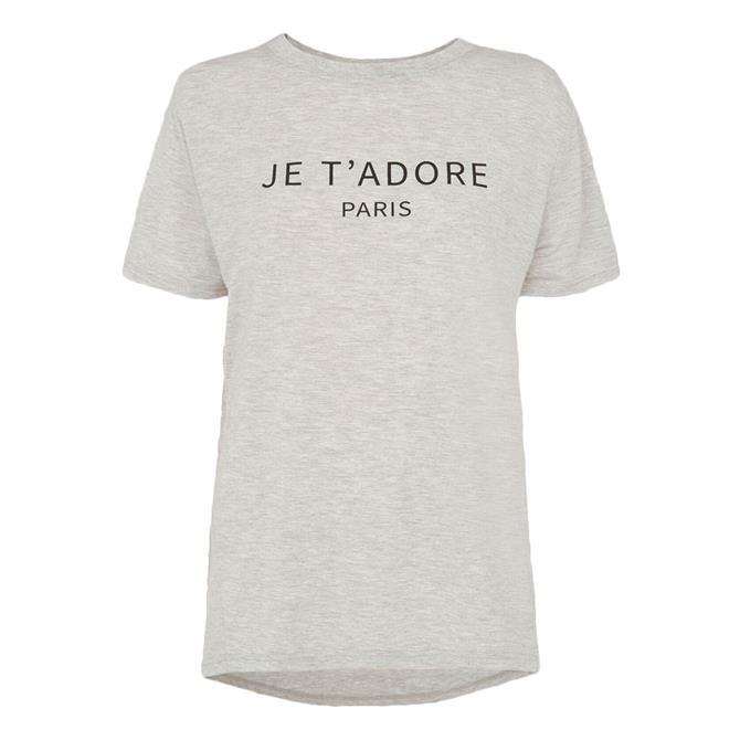 Whistles Je T'Adore Paris Logo T-Shirt