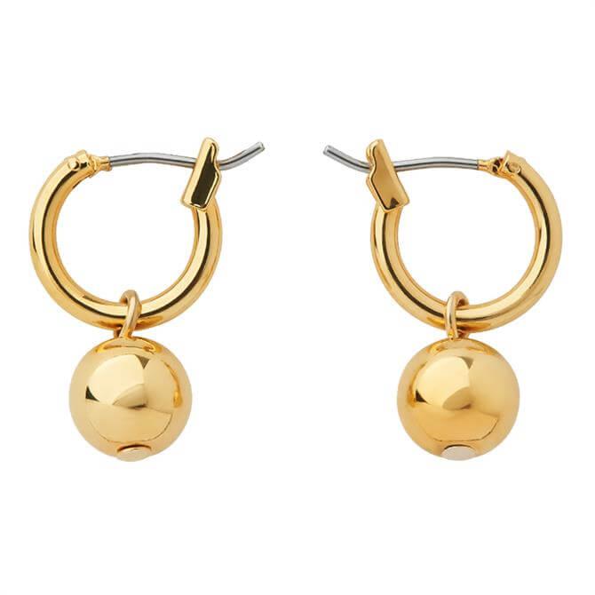 Whistles Mini Hoop Sphere Earring