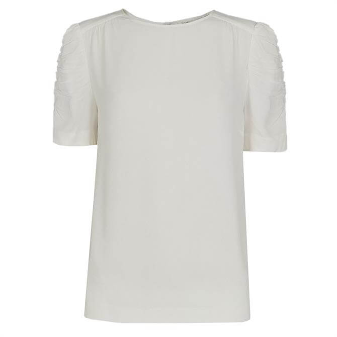 Whistles Nelly Ivory Shell Top
