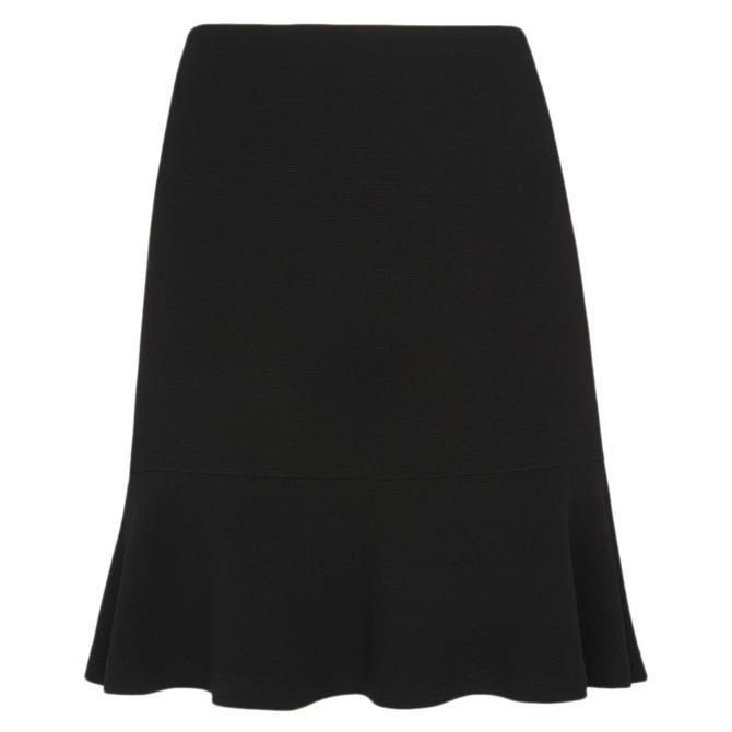 Whistles Ottoman Jersey Flippy Skirt