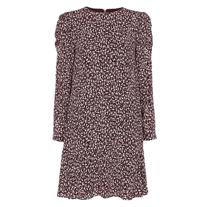 Whistles People Print Georgina Dress