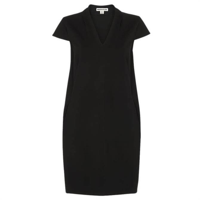 Whistles Ponte Jersey Paige Relaxed Dress