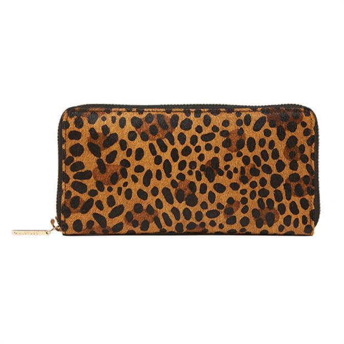 Whistles Leopard Print Reigate Leopard Wallet