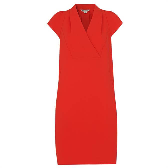 Whistles Sabina V Neck Dress