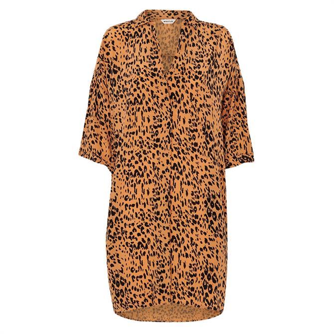 Whistles Safari Print Lola Dress