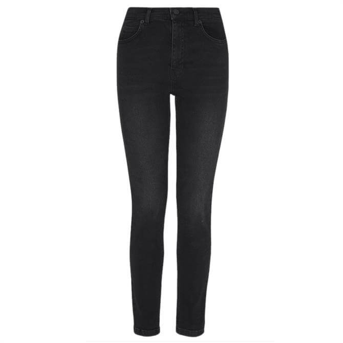 Whistles Black Sculpted Skinny Jeans