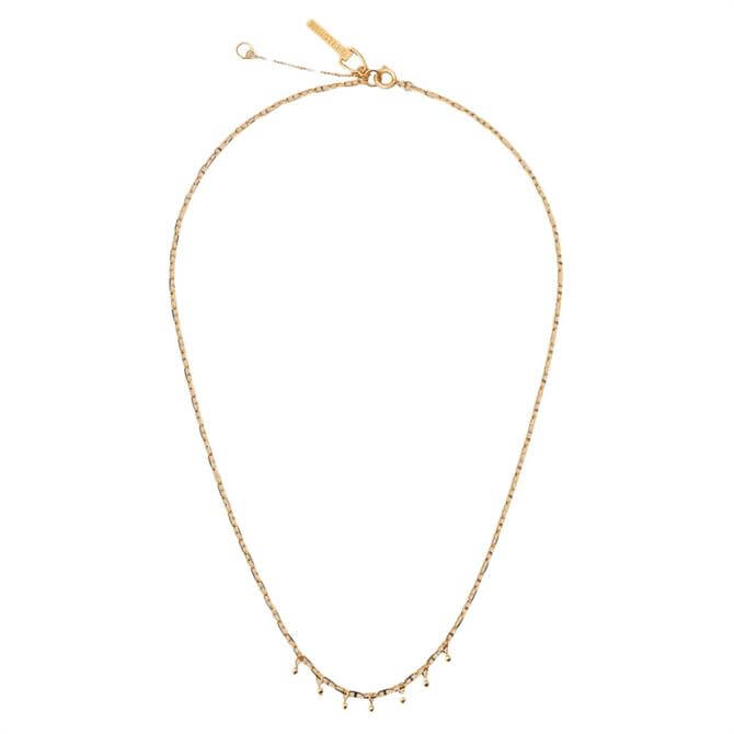 Whistles Seed Bead Chain Necklace