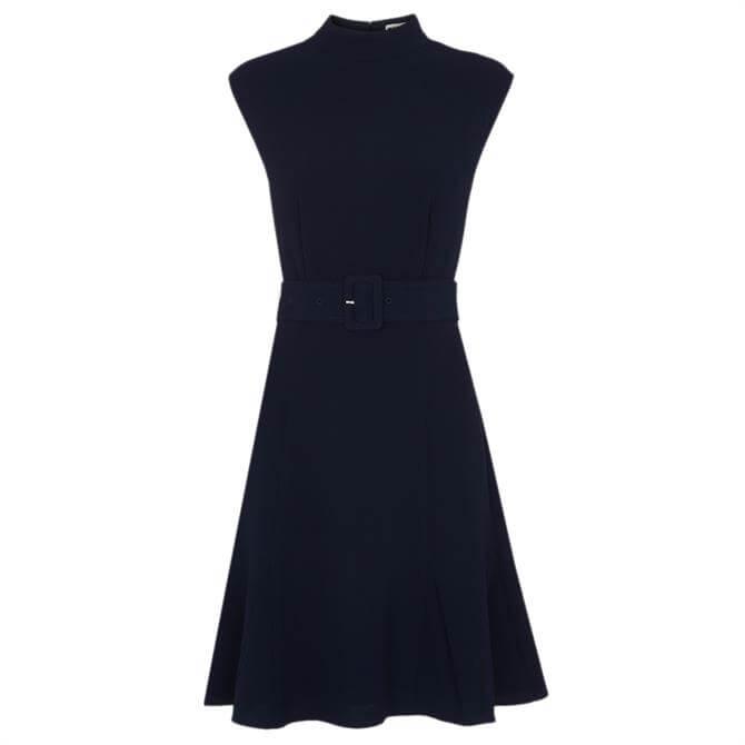 Whistles Sleeveless Belted Dress
