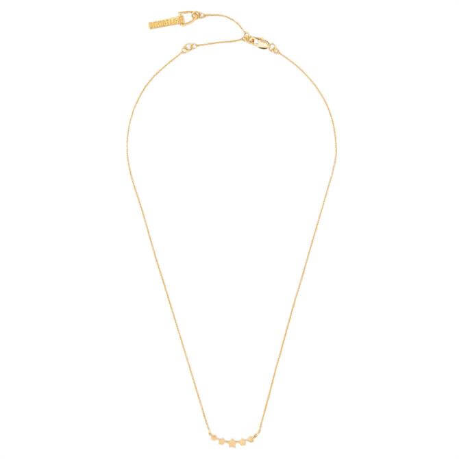 Whistles Star Curve Necklace