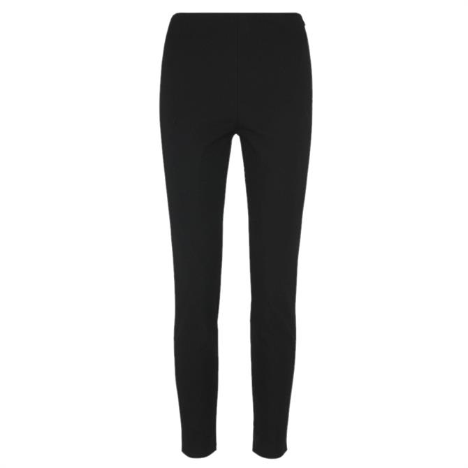 Whistles Super Stretch Black Trousers