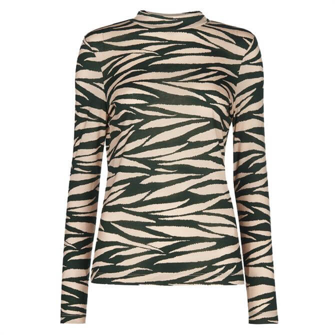 Whistles Tiger Stripe Essential Top