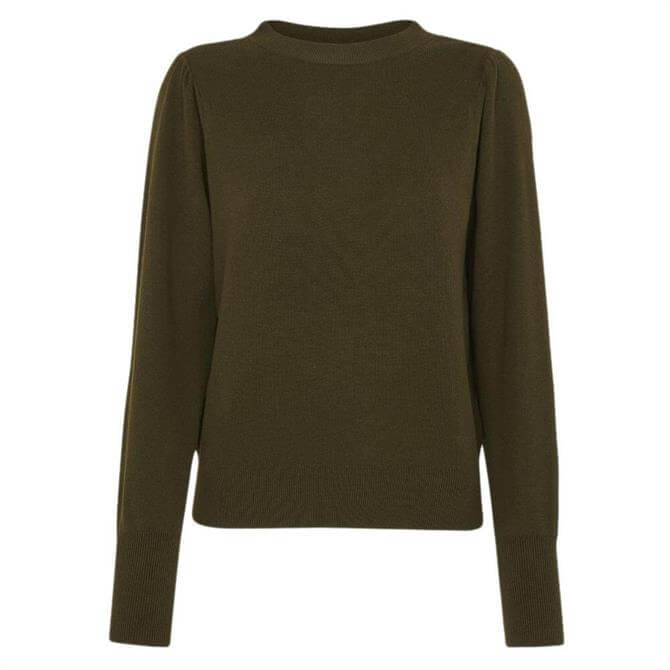 Whistles Puff Sleeve Knitted Jumper