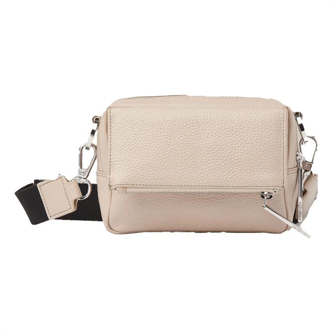 Whistles Taupe Crossbody Bag
