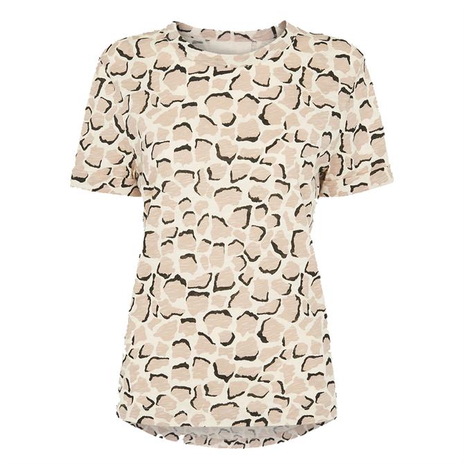 Whistles White Sustainable Emily Ultimate Giraffe T-Shirt