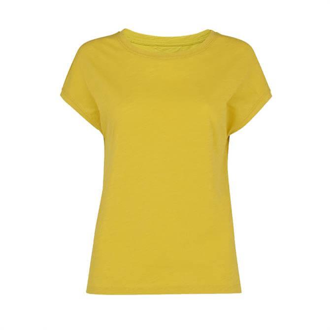 Whistles Minimal Cap Sleeve T-Shirt