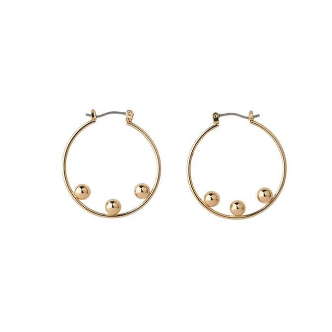 Whistles Triple Sphere Hoop Earrings